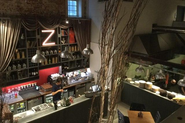 Inside Zizzis