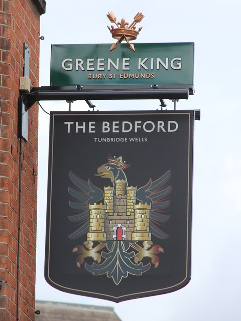 The Bedford sign