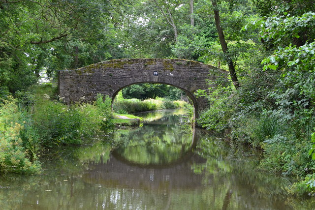 Bridge No. 89 on the Monmouthshire and Brecon Canal