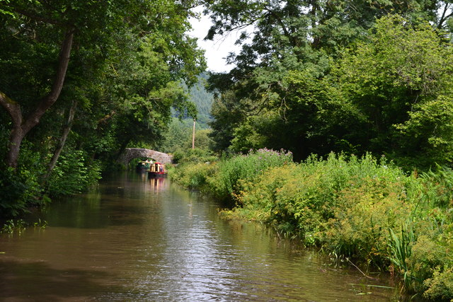 Monmouthshire and Brecon Canal near Llanover