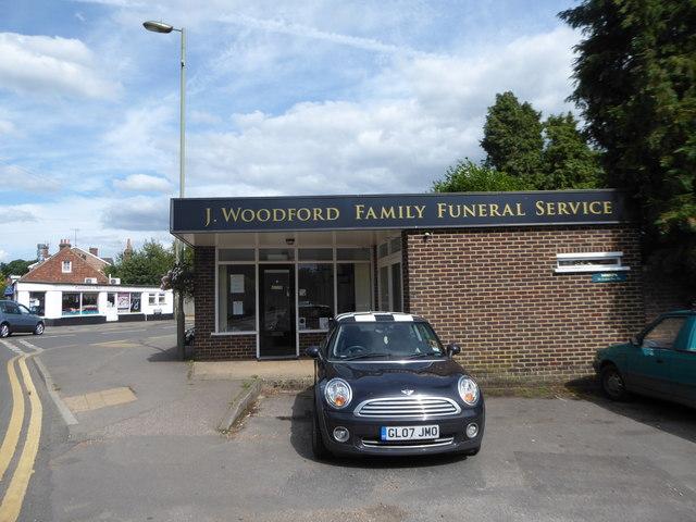 Funeral directors in Ewhurst Road