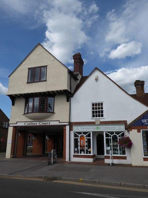 Collins Court/The Hair Company, Cranleigh High Street