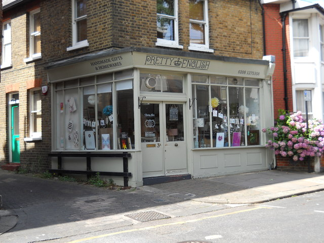 Gift shop on Wilson Street, Winchmore Hill