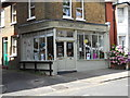 TQ3194 : Gift shop on Wilson Street, Winchmore Hill by Paul Bryan