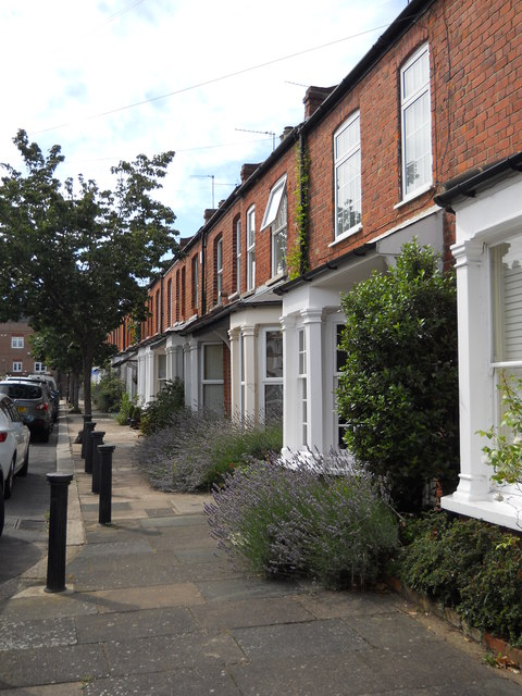 Houses on Wilson Street, Winchmore Hill
