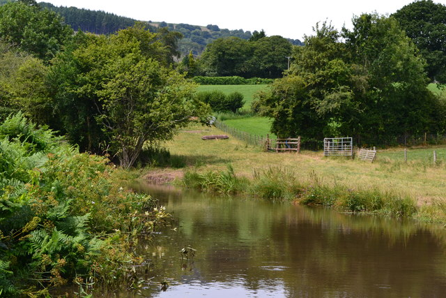 Bend in the Monmouthshire and Brecon Canal near bridge No. 66