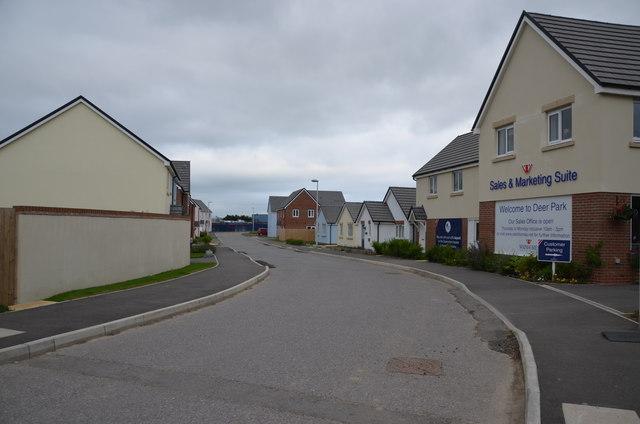 New houses, Westward Ho!