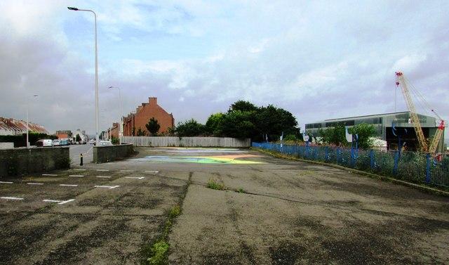 Former car park, Leven