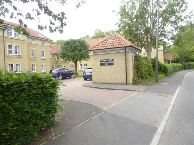 Entrance to retirement housing, Brassmill Lane