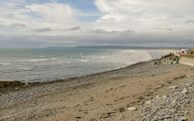The Beach at Westward Ho!