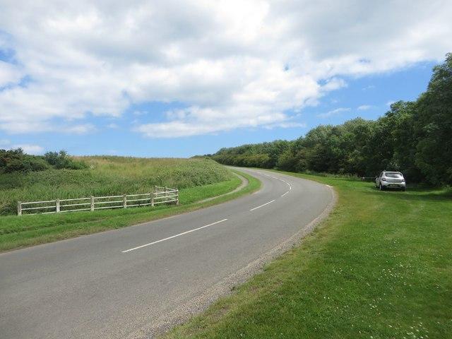 The road to Flamborough Head