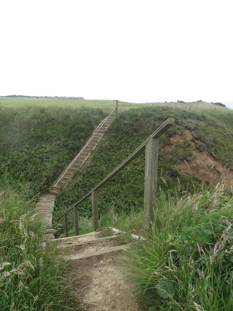 Steps on the Headland Way