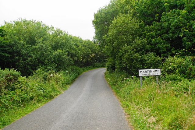 Entering Martinhoe from the east