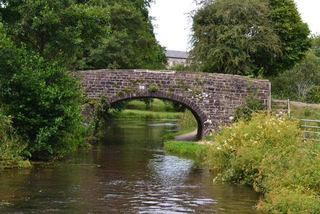 Bridge No. 56 on the Monmouthshire and Brecon Canal