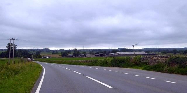 Farmland north of Ston Easton