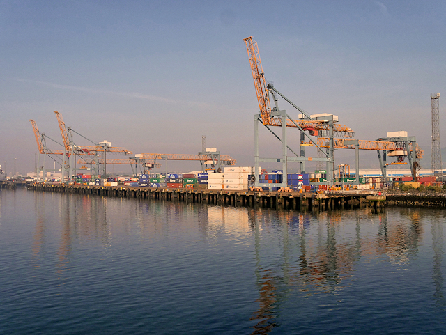 Container Terminal at Belfast Harbour