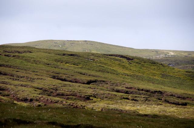 The Valla Field ridge