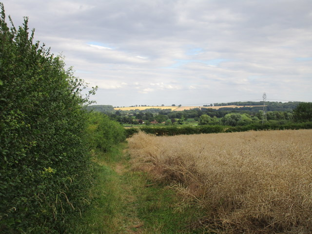 View across the Trent Valley