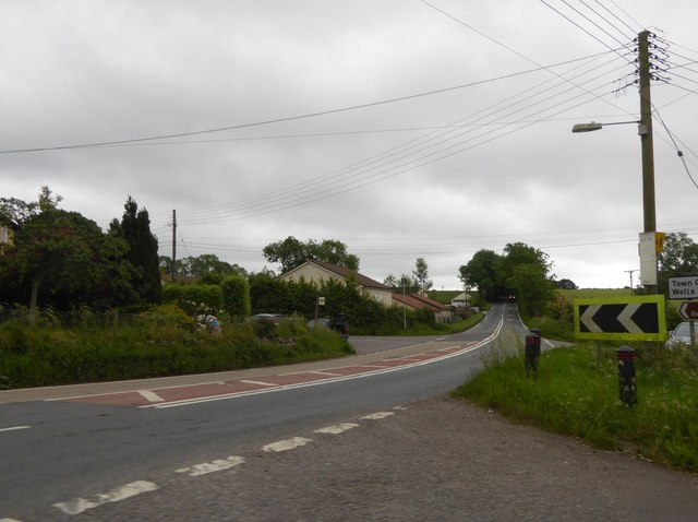 A37 bypassing Shepton Mallet