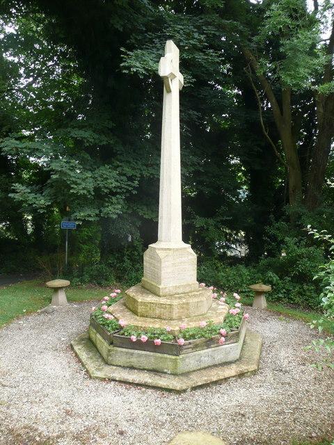 War Memorial, Slad