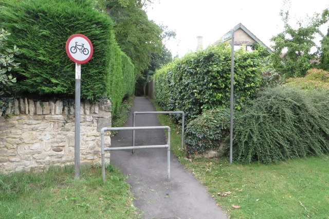 Footpath to the church