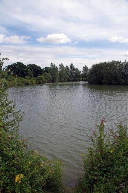 The Fishing Lake on Ashlins Farm