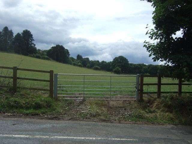 Field entrance off Pumphouse Lane