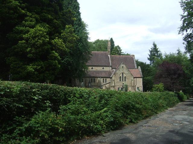 Holy Trinity Church, Lickey