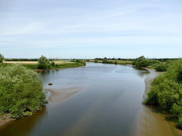 The River Trent from Torksey Viaduct