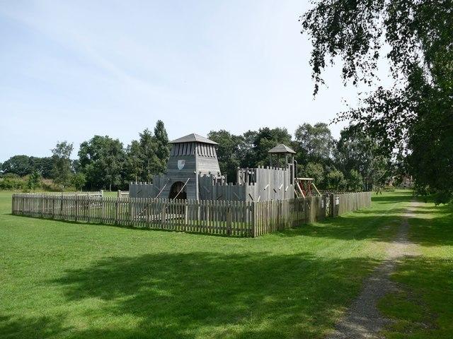 Playground on the village green