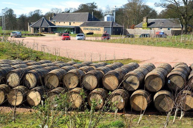 Kingsbarns Distillery, by Cambo, Fife