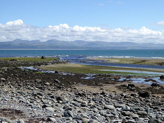 The estuary of Afon Dwyfor