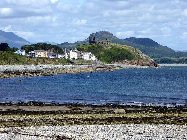 A view towards Criccieth