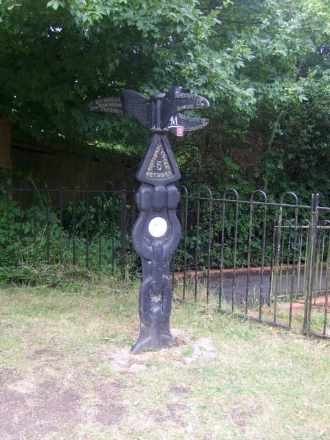 Millennium Milepost, National Cycle Route 5