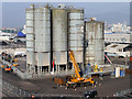 J3576 : Storage Silos at Stormont Wharf by David Dixon