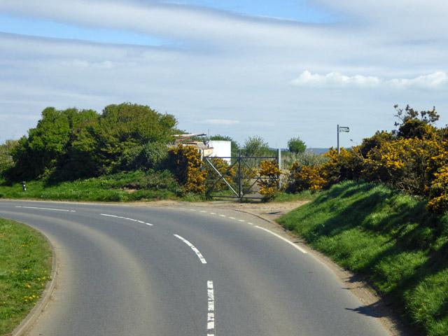 Road bend, Bleak Down