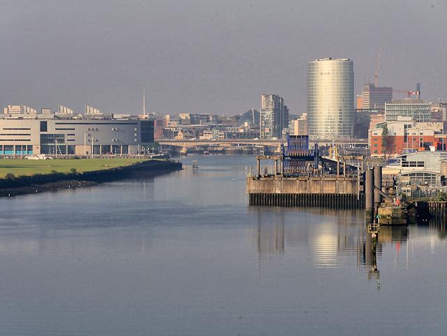 Belfast Harbour, River Lagan