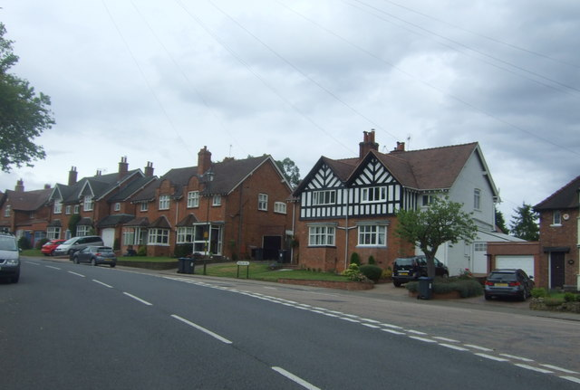 Houses on Willow Road, Bournville
