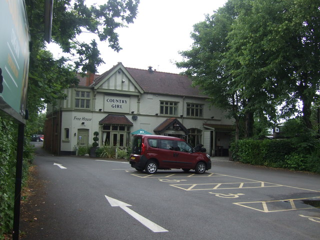 Country Girl public house, Selly Oak