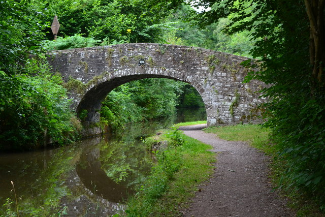 Bridge No. 106 on the Monmouthshire and Brecon Canal