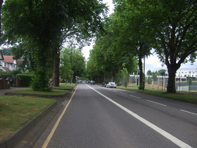 Looking north east on Pershore Road (A441)