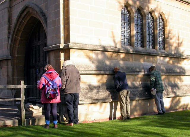 Lichen survey of Lancing College chapel