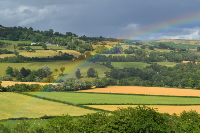 Usk Valley rainbow