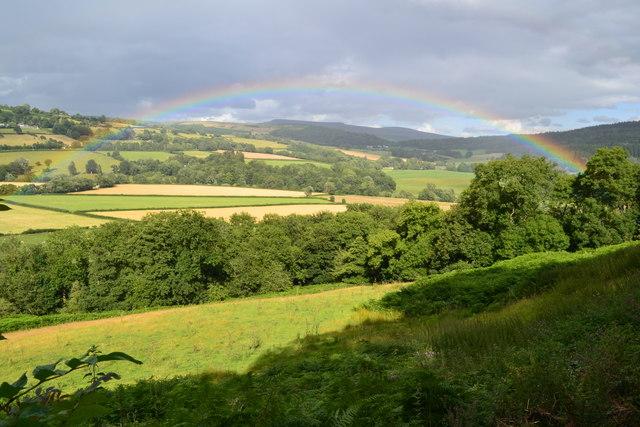 Usk Valley rainbow