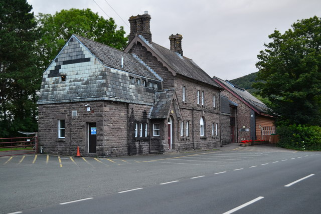 Former railway station, now an outdoor education centre