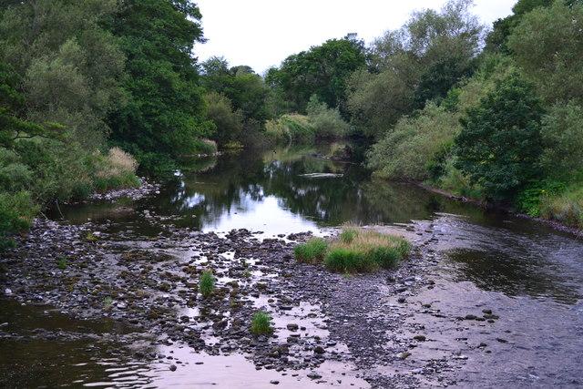 River Usk from Talybont Bridge