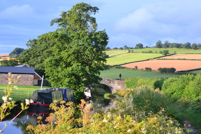 Monmouthshire and Brecon Canal near bridge No. 159