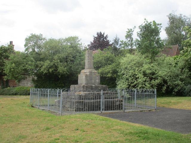 The Village Cross, Collingham