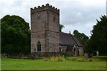 SO0725 : St Brynach Church, Llanfrynach by David Martin