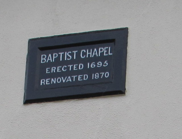 Baptist Chapel Erected 1695 Renovated 1870, Govilon